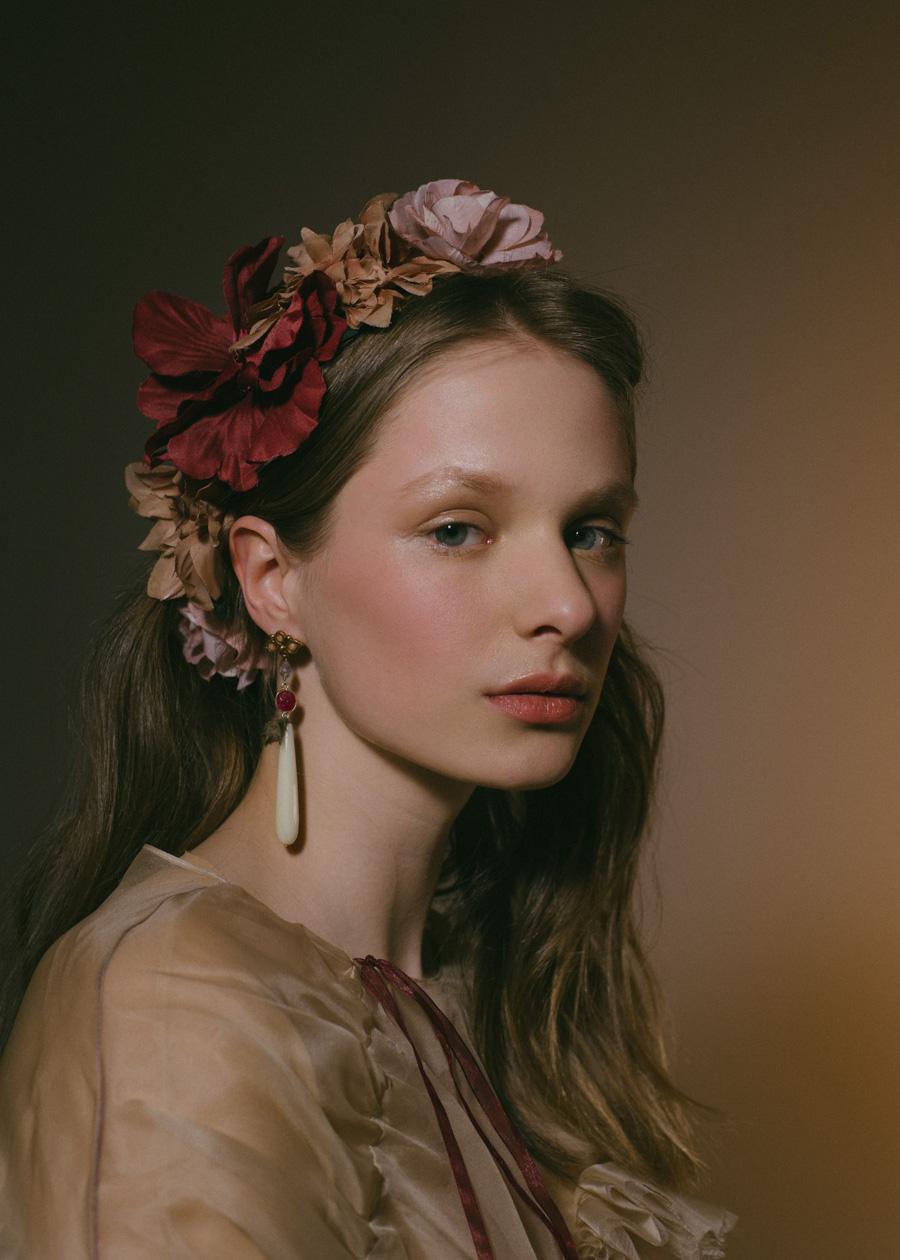 Olga Poza fotografía de Moda