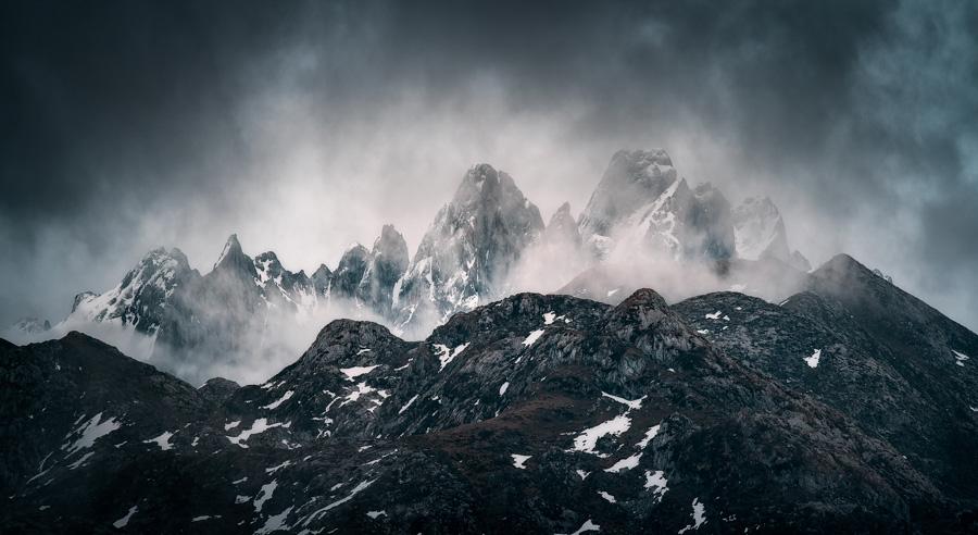 Camara para fotos de paisajes